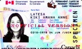 移民10年 中国家庭申领枫叶卡被拒